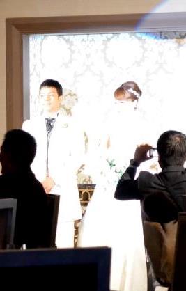 松岡結婚式1