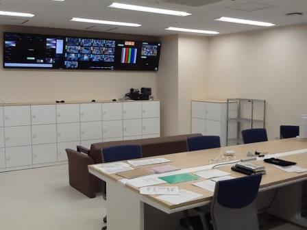 麻酔科医控室