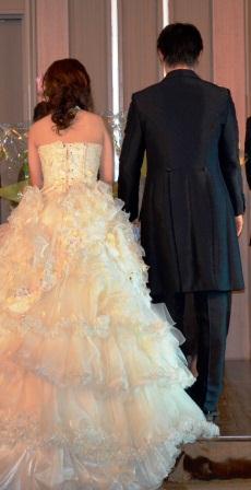 結婚式 二人